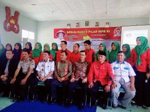 PPWI Lampung Bersama MPR RI Sosialisasikan 4 Pilar Kebangsaan 101