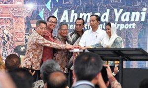 Jokowi Resmikan Bandara Ahmad Yani di Semarang 1