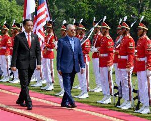 Presiden Jokowi Sambut Kunjungan PM Mahathir dengan Upacara Kenegaraan 101