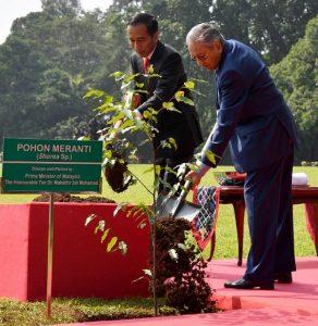 Presiden Jokowi Sambut Kunjungan PM Mahathir dengan Upacara Kenegaraan 102