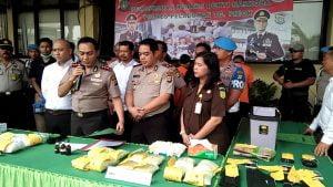 Polres Pelabuhan Tanjung Priok Musnahkan Narkoba Senilai Rp 11 Miliar 101