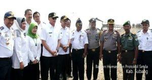 Pj Gubernur Jabar Kunjungi Pembangunan Pelabuhan Patimban 101