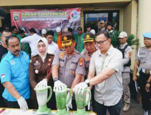 Polres Jakarta Barat Musnahkan Narkoba Senilai Rp 20 Miliar 101