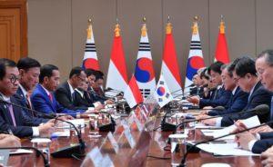Indonesia dan Korsel Tingkatkan Hubungan Perdagangan dan Investasi 113