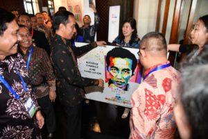 IMF-World Bank: Presiden Jokowi Ajak Para Delegasi Berbahagia di Indonesia 114