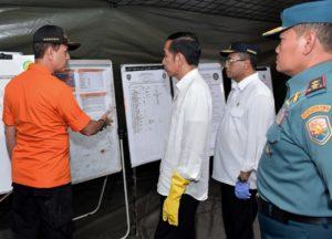 Presiden Jokowi Tinjau Posko Evakuasi Lion Air di Tanjung Priok 113