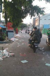 Tinggalkan Sampah, Aparat dan Walikota Jakut Diminta Perketat Izin Bazar 113