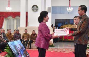 Serahkan DIPA 2019, Presiden Jokowi: Anggaran Untuk Kesejahteraan Rakyat 114