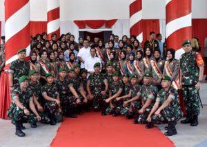 Presiden Jokowi Apresiasi Kerja Nyata Babinsa 114
