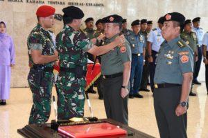 Panglima TNI Pimpin Sertijab Dandenma Mabes TNI 113