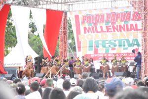 Ribuan Generasi Millenial Papua Barat Antusias Ikuti MRSF 113