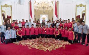 Presiden Jokowi Saat Terima Timnas U-22: Rakyat Indonesia Bangga 113