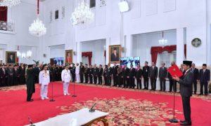 Presiden Lantik Gubernur dan Wagub Riau 113