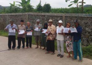 Warga Desa Randusari-Kuningan Lapor Ombudsman 114