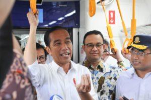 Ujicoba MRT, Presiden: Ini Moda Transportasi yang Bangun Peradaban dan Budaya Baru 114