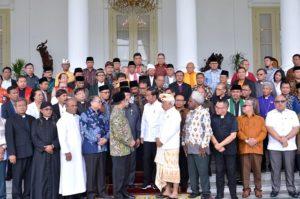 Presiden dan FKUB Bahas Kerukunan Umat Beragama dan Pemilu Damai 113