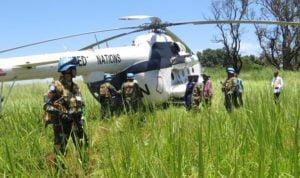 Satgas TNI Konga Gelar Joint Activity Mission Baraza 114