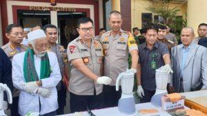 Polda Banten Ungkap Kasus Narkotika Jaringan Internasional Senilai Rp 3 M 113