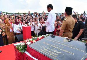 Presiden Resmikan Pengembangan Bandara Tjilik Riwut Palangkaraya 113
