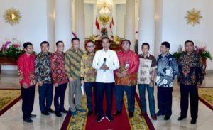 Presiden Bertemu Serikat Pekerja di Istana Bogor 113