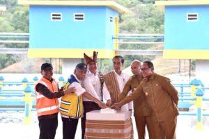 Resmikan Bendungan Rotiklot, Presiden: Air Kunci Kemakmuran di NTT 101