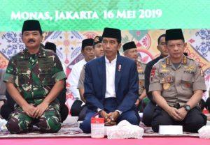 Presiden Apresiasi Dedikasi dan Kerja Keras TNI dan Polri 113