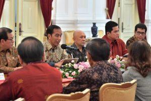 Presiden Minta Pelaku Usaha Sampaikan Masukan Terkait Terobosan Ekonomi 1