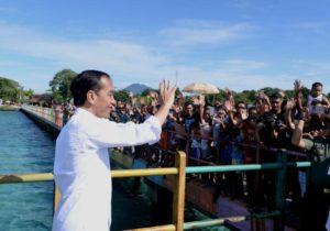 Presiden Jokowi Sambangi Kawasan Wisata Bunaken 1