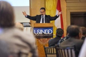 Anies Baswedan Paparkan Perkembangan Jakarta di Washington 1