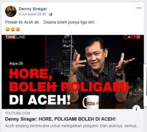Dianggap Hina Rakyat Aceh, Senator Fachrul Razi Kecam Keras Deni Siregar 102