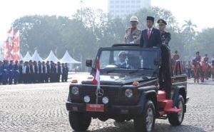Presiden Minta Polri Tingkatkan Profesionalitas 113