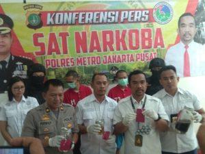 Polres Jakpus Ungkap Pelaku Narkotika Gunakan Jasa Pengiriman Barang 1