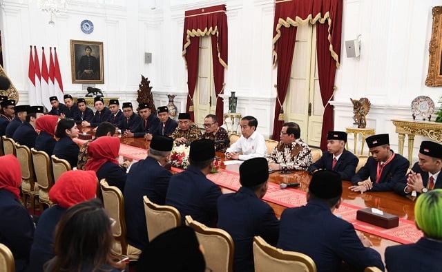 Presiden Jokowi Dukung Delegasi Indonesia di Kompetisi WorldSkills 2019 113