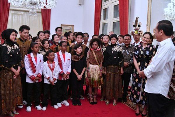 Presiden Jokowi Temui Talenta-Talenta Muda di Istana 113