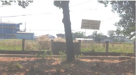 Sengketa tanah di Jl.Yos Sudarso