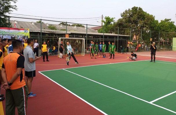Lapangan Futsal Asrama Yon Arhanud Diresmikan 101