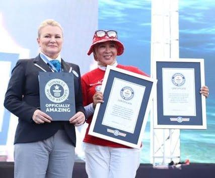"""WASI """"Spektakuler"""" Pecahkan Dua Rekor Dunia Selam di Manado 102"""