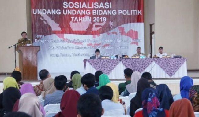 Sosialisasi UU Politik, Bupati Ciamis: Target 5 Tahun Kedepan 19 Indikator Harus Dicapai 113
