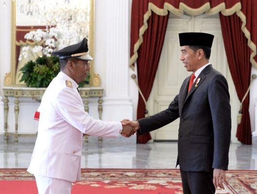Presiden Jokowi Lantik Wakil Gubernur Bengkulu 111