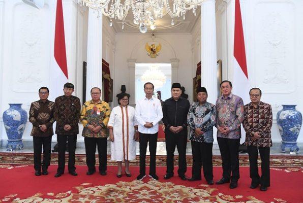 Bahas Situasi Bangsa, Presiden Jokowi Berdialog dengan 7 Tokoh Lintas Agama 113