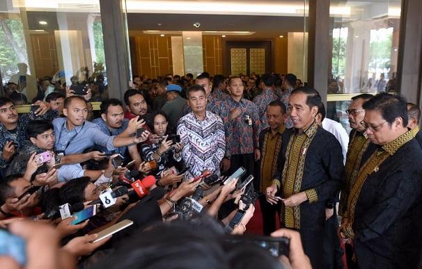 Presiden Jokowi: Saya Tak Pernah Ragukan Pimpinan KPK 113
