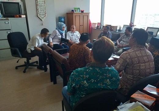 "Komunitas Pedagang Sunter Audiensi Dengan Kesbangpol DKI: ""Kami Minta Dibina Menjadi Pengusaha Kecil"" 113"