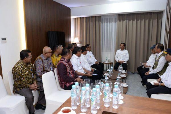Presiden Jokowi Akan Tindak Lanjuti Aspirasi Soal APBD Maluku 113