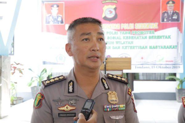 Dokkes Polda Sulut Libatkan 100 Tenaga Medis dalam Bakti Kesehatan Polri di Unima Tondano 111
