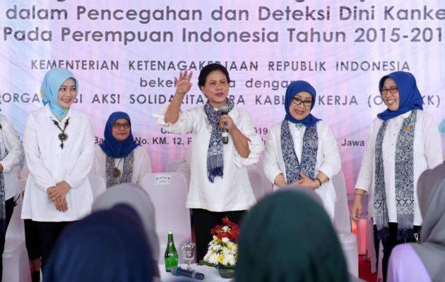 Ibu Negara Apresiasi Swasta Fasilitasi Pemeriksaan IVA di Cirebon 113