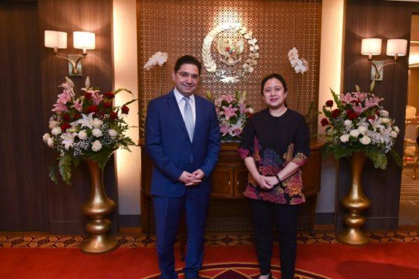 Ketua DPR Harap Penguatan Hubungan Kerjasama Ekonomi dan Investasi Antara Indonesia-Maroko 114