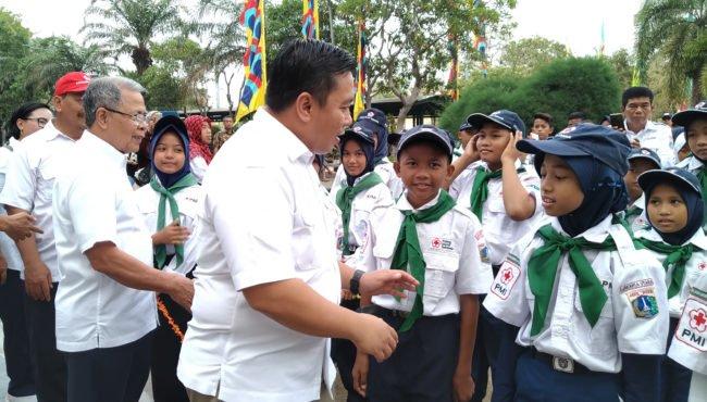PMR PMI Jakarta Utara Kerahkan 1200 Kontingen Menuju Bumi Perkemahan 113