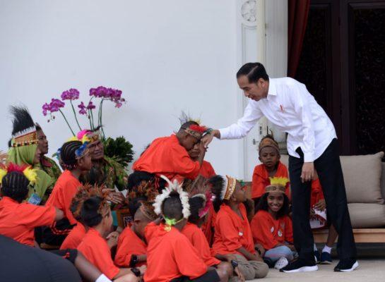 Presiden Jokowi Penuhi Janji Ajak Anak-Anak Papua Berkunjung ke Jakarta 112