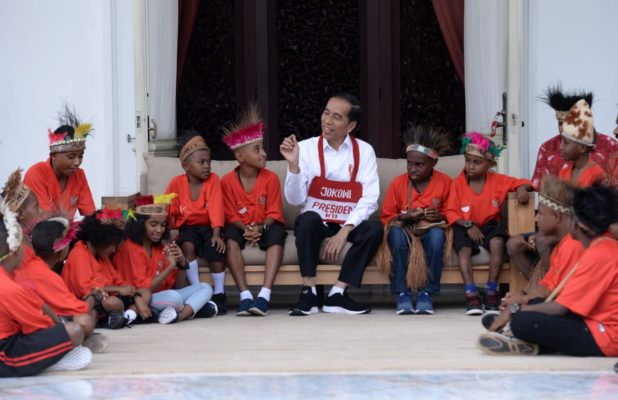 Presiden Jokowi Penuhi Janji Ajak Anak-Anak Papua Berkunjung ke Jakarta 111