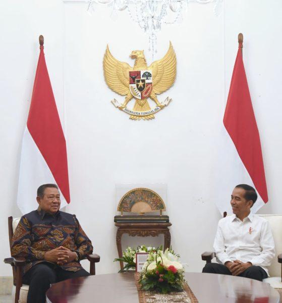 SBY Bertemu Presiden Jokowi  di Istana 101
